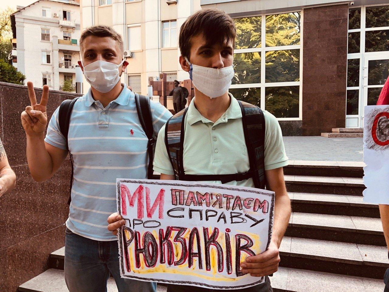 В Днепре активисты выходят на акции против Арсена Авакова, - ФОТО , фото-2