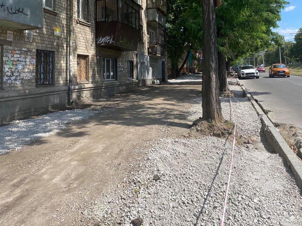 В Днепре обустраивают новое парковочное пространство, - ФОТО, фото-5