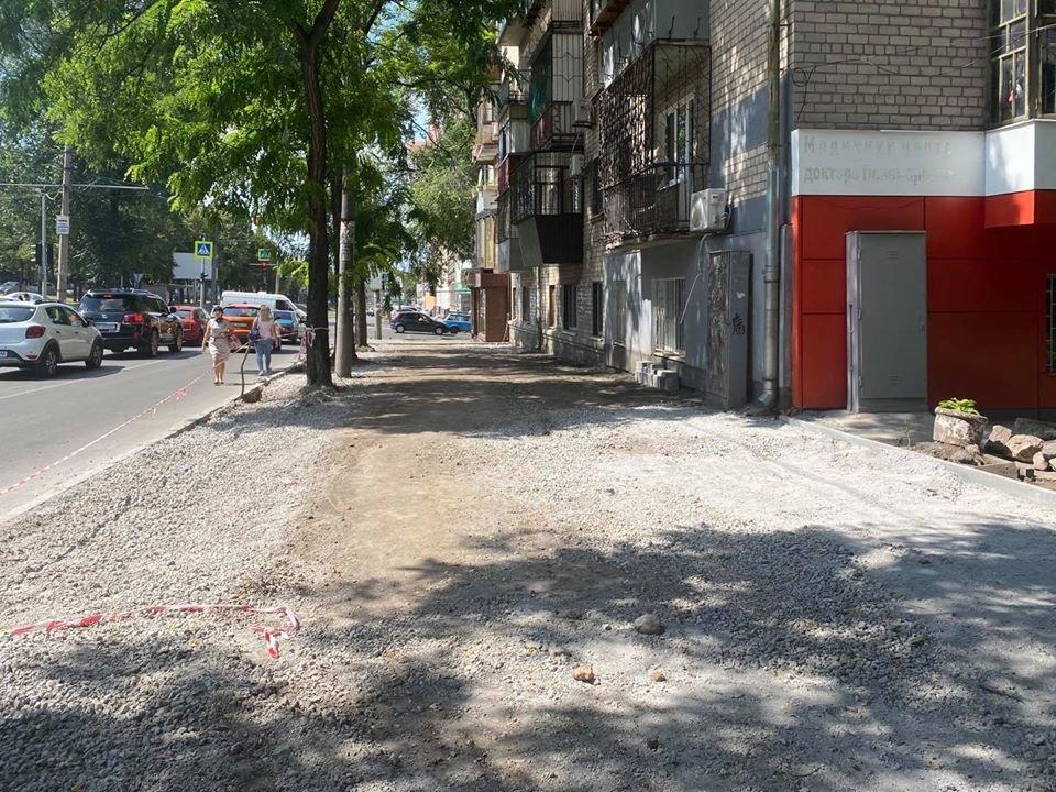 В Днепре обустраивают новое парковочное пространство, - ФОТО, фото-4