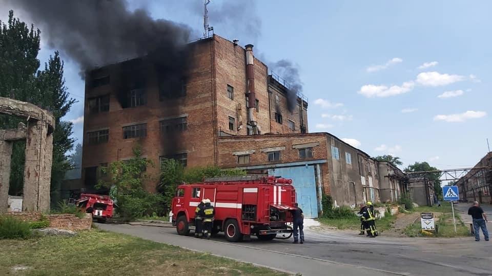 В Днепре произошёл пожар на «Метизном заводе», - ФОТО, фото-3