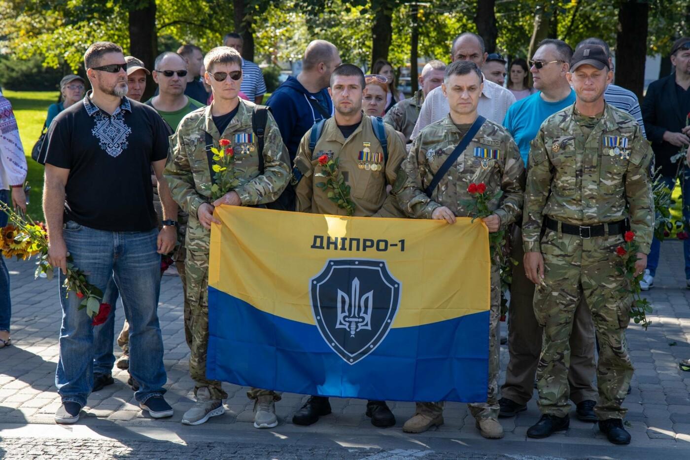 В Днепре почтили память погибших защитников Украины, - ФОТО, фото-7
