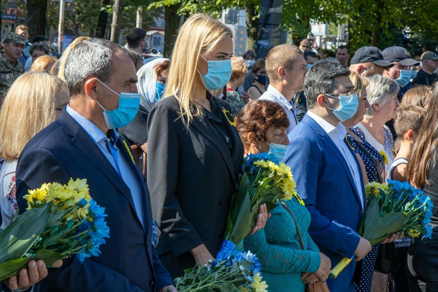 В Днепре почтили память погибших защитников Украины, - ФОТО, фото-6