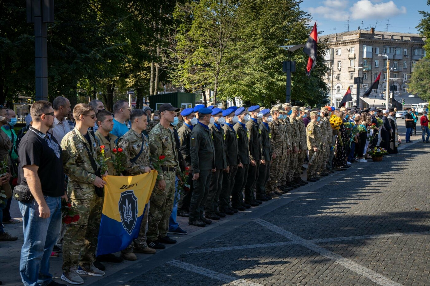 В Днепре почтили память погибших защитников Украины, - ФОТО, фото-3