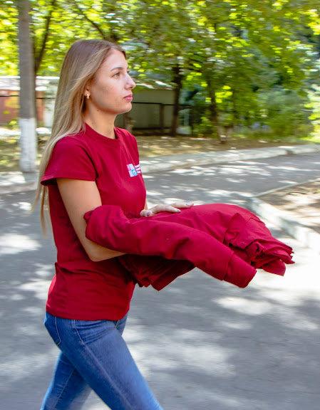 Соцработникам Днепра доставили брендированную одежду для работы, фото-3