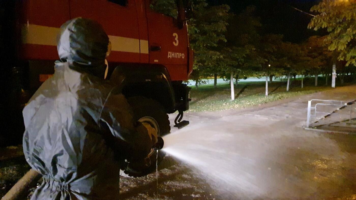 В Днепре спасатели продезинфицировали улицы перед выборами, - ФОТО, фото-1