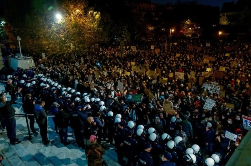 Рассказ днепрянки: как проходят протесты из-за запретов абортов в Польше , фото-3