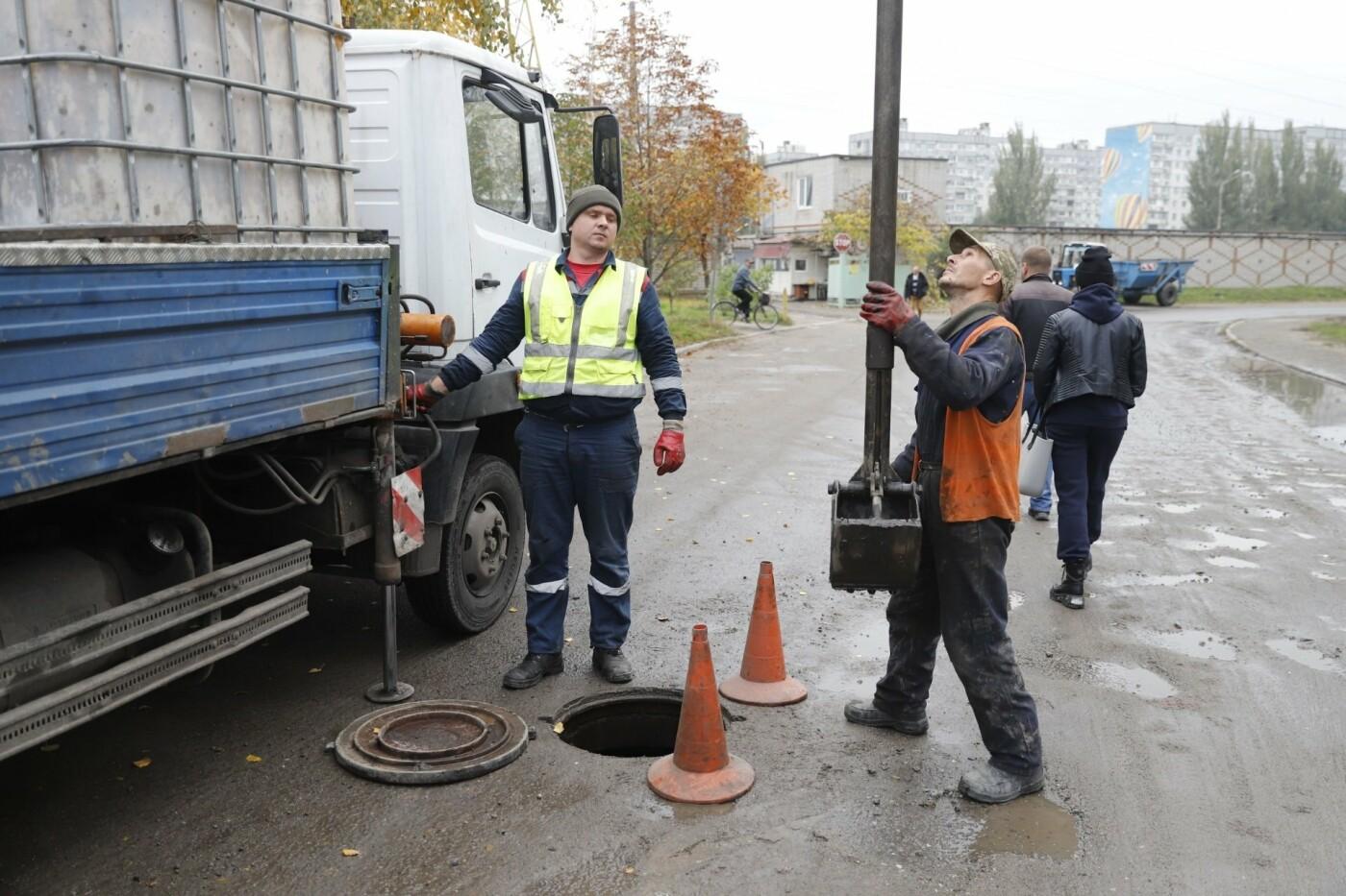 """В Днепре строят новые системы дождевой канализации - """"ливневки"""", фото-10"""