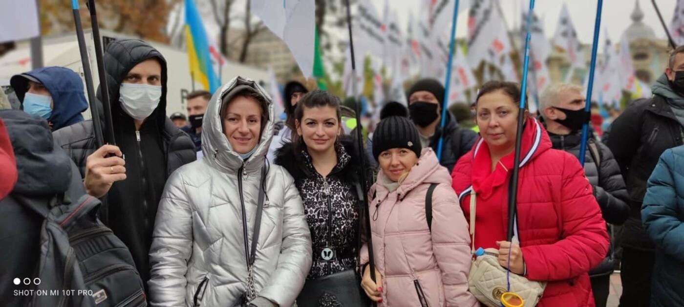 Протестующие в столице