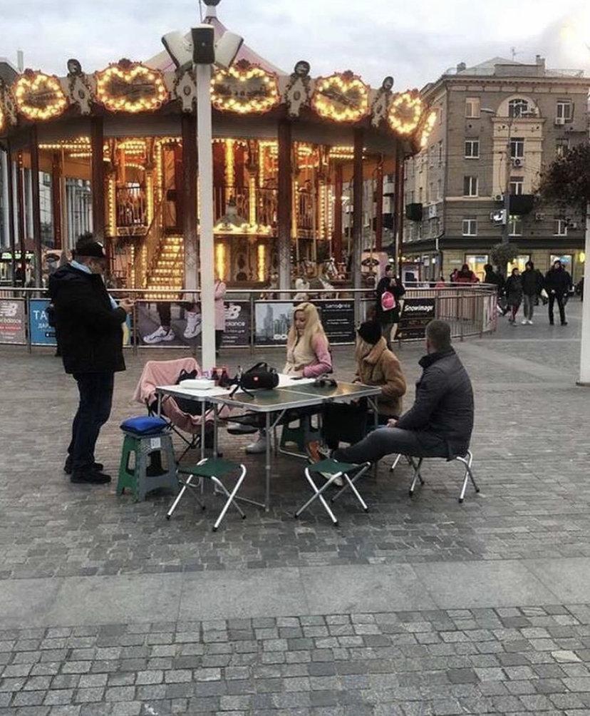 Рестораторы в центре Днепра