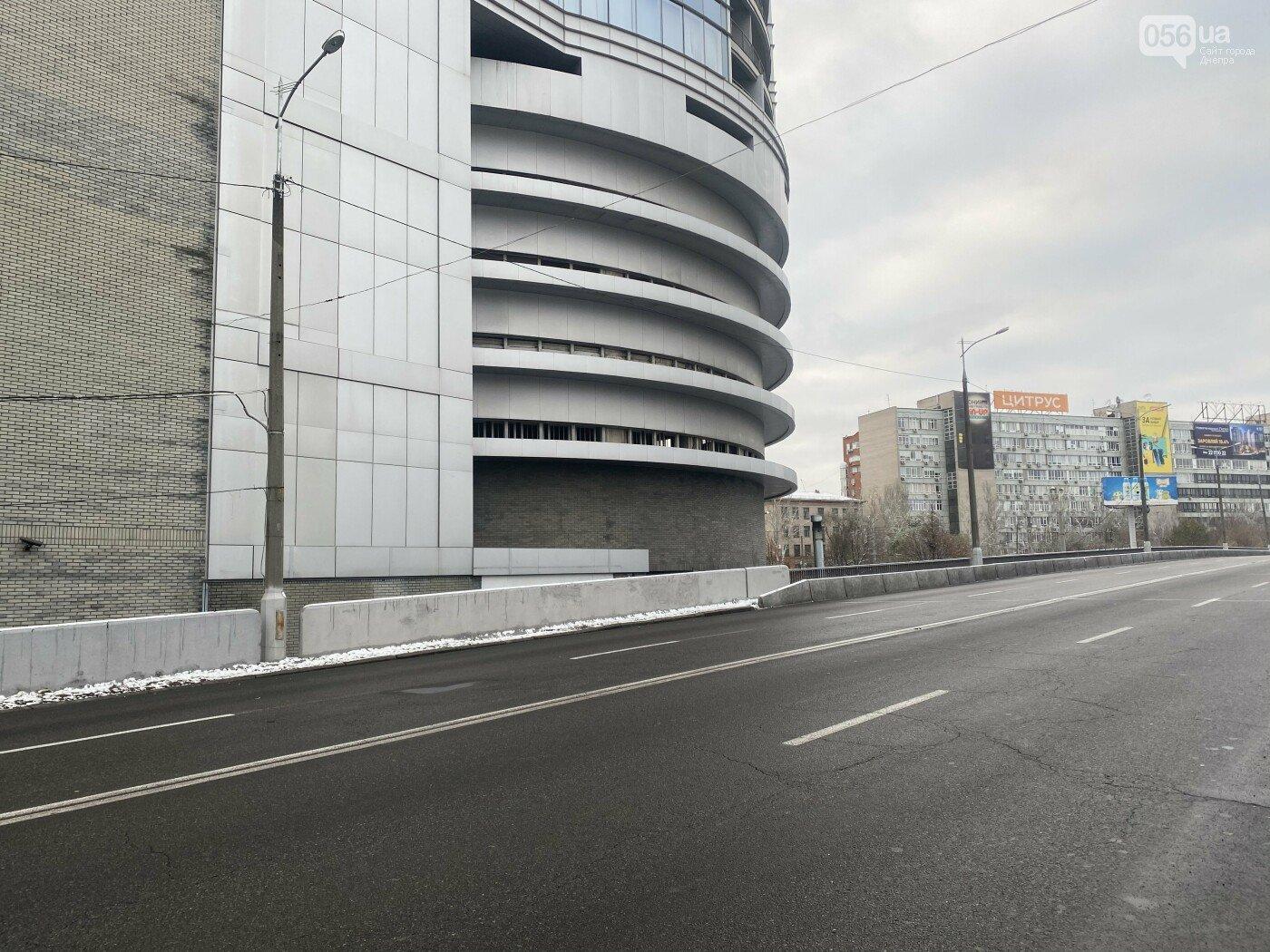 Съезд с Центрального моста на ул. Коцюбинского, 2020 год