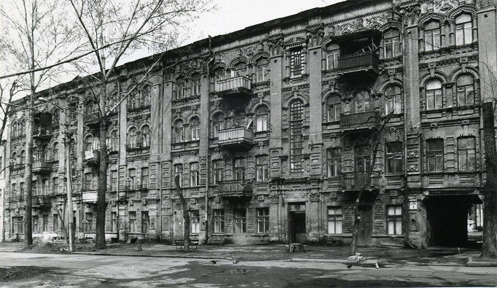 Дом Померанца, конец 1980-х годов