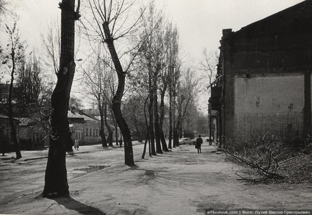 Ул. Харьковская, 1980-е годы