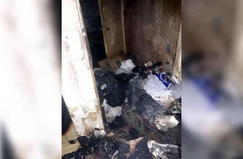 Пожар в квартире в Днепре