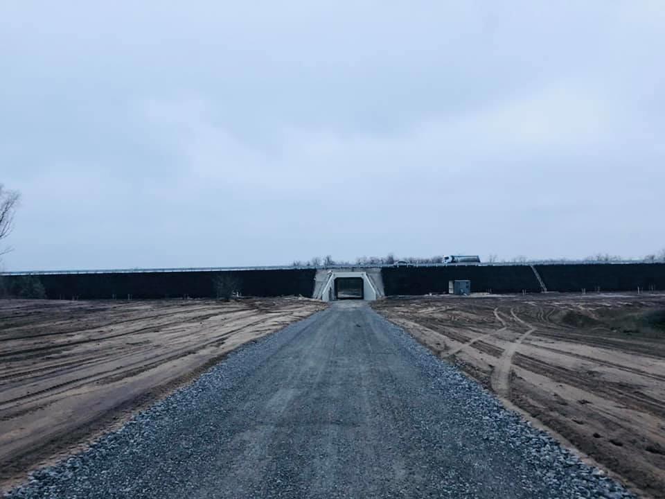Тоннель трассы Н-31