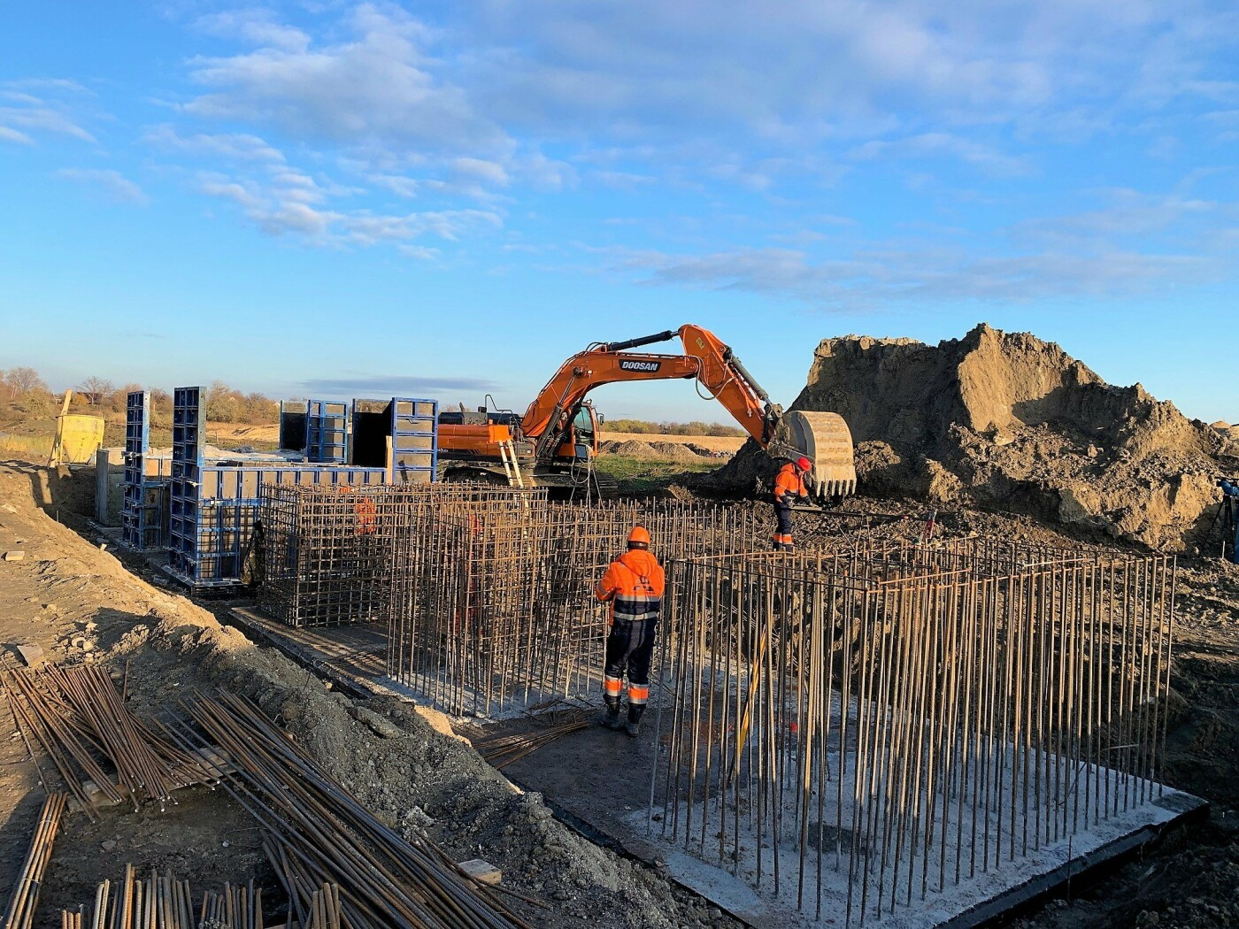 Первая бетонная дорога в Украине