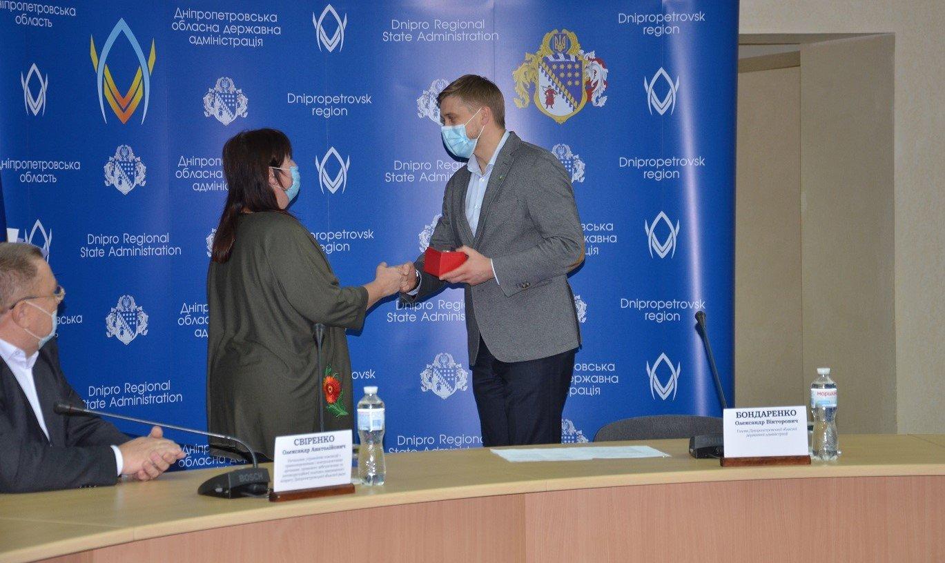 В обладминистрации наградили волонтеров Днепра и области, фото-7