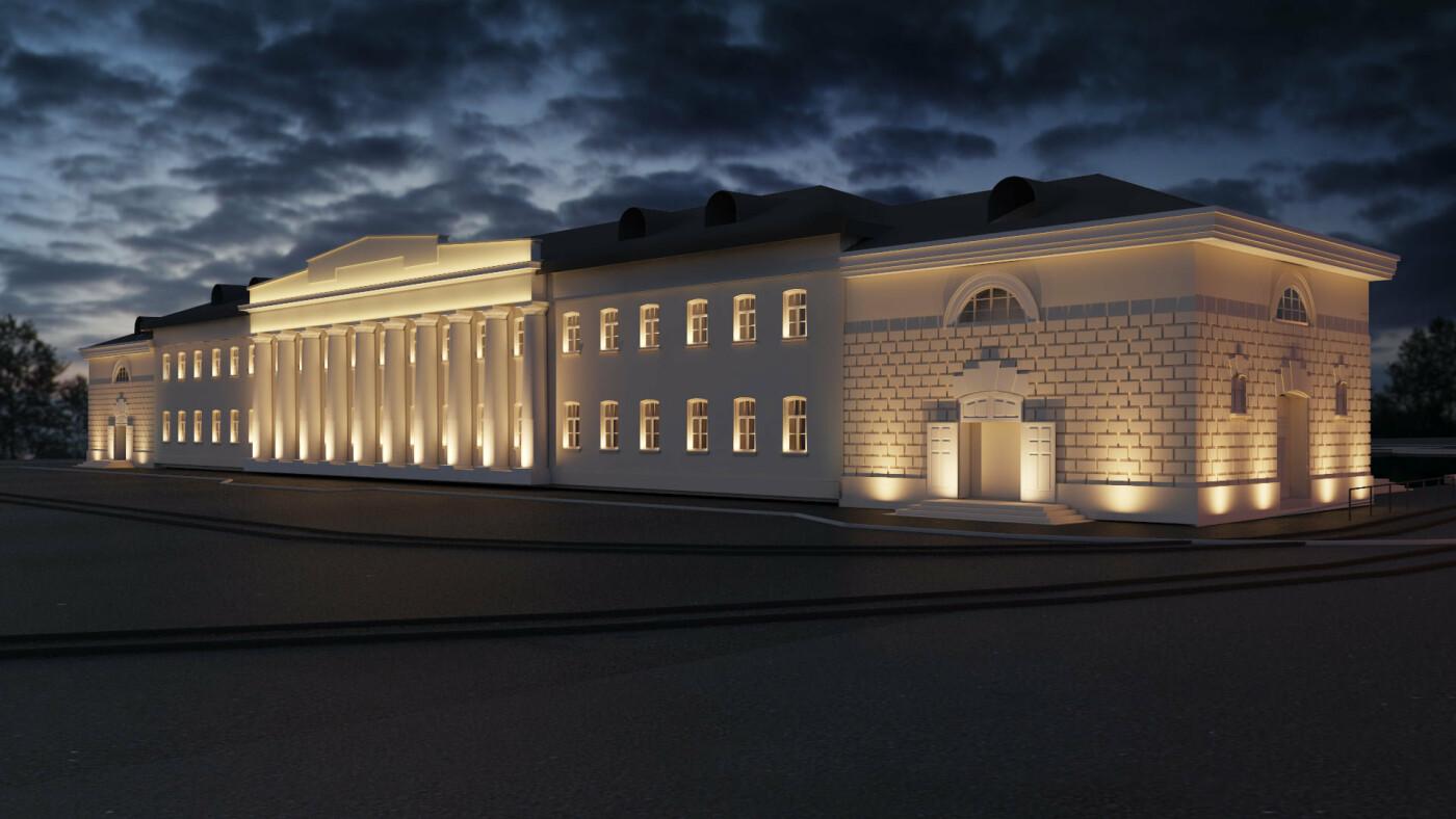Проект суконной фабрики и ультрасовременного торгового центра