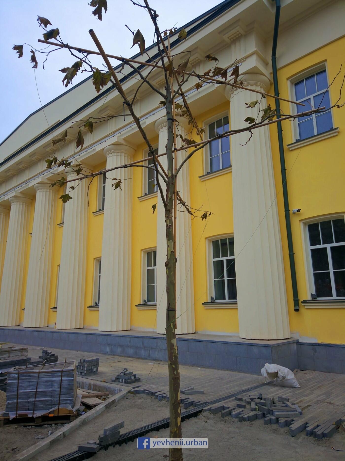 Реставрация суконной фабрики в Днепре