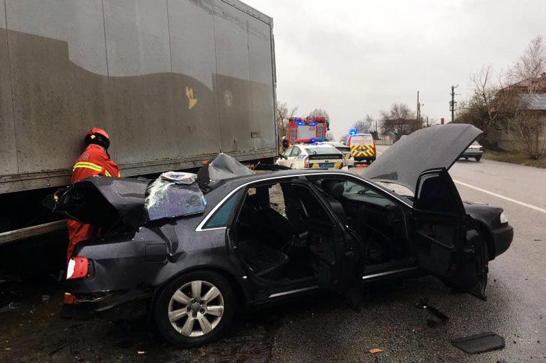 Авария в Самарском районе