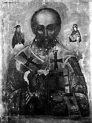 Икона Николая Мокрого — первая чудотворная икона Руси