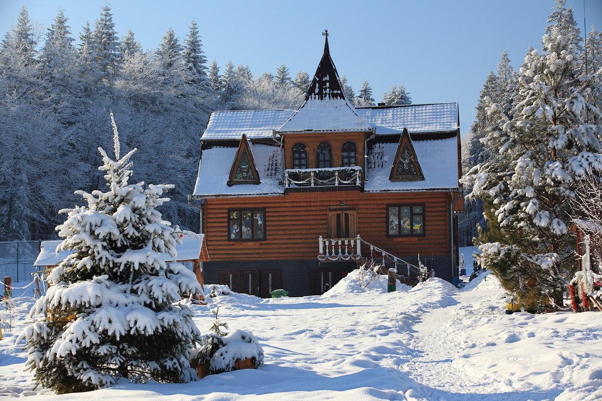 Резиденция святого Николая в селе Пистынь
