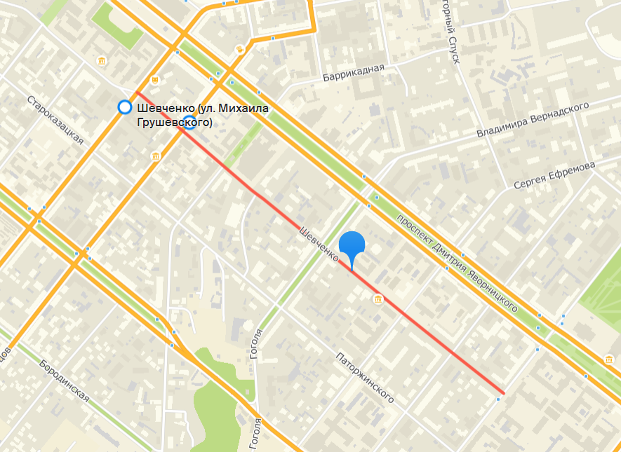 В Днепре временно перекрыли улицу Шевченко: на сколько и почему, фото-1