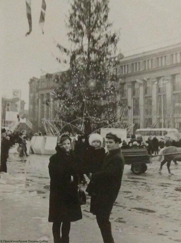 От времен СССР до сегодня: как раньше выглядела главная елка Днепра, - ФОТО, фото-5