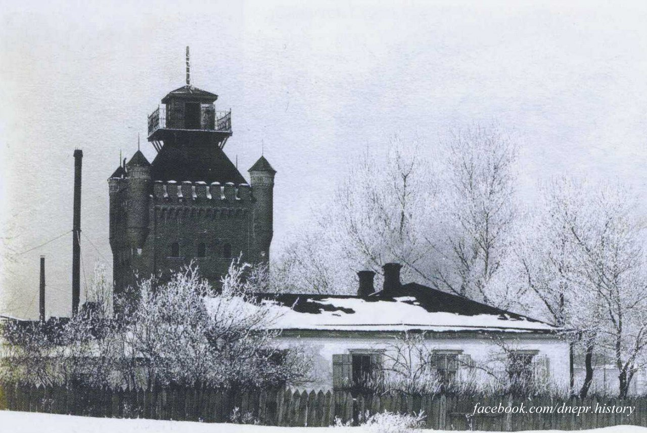 Водонапорная башня на Соборной площади, начало 1900-х годов