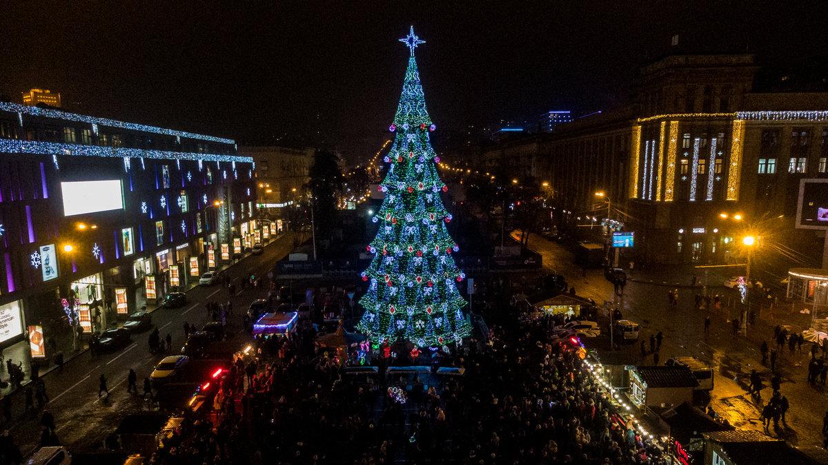 От времен СССР до сегодня: как раньше выглядела главная елка Днепра, - ФОТО, фото-7