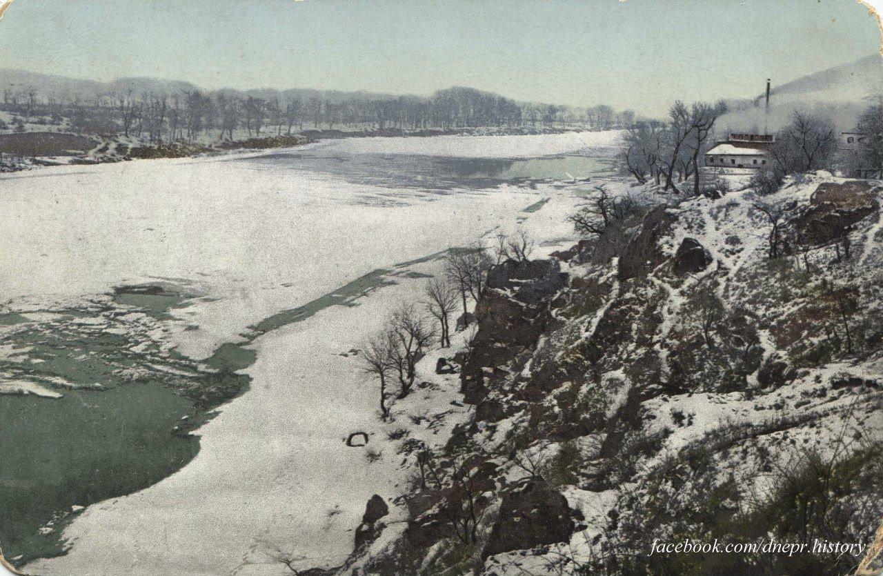 Вид на парк Шевченко и Днепр, начало 1900-х годов