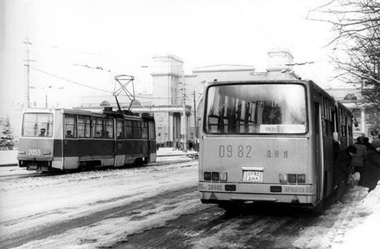Привокзальная площадь, 1985-й год, фото-1