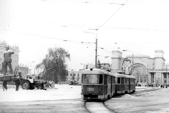 Привокзальная площадь, 1985-й год, фото-2