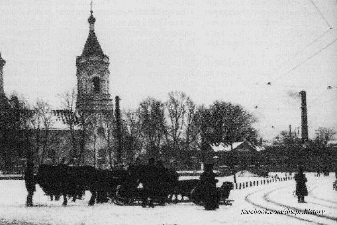Площадь Старомостовая, 1900-й год