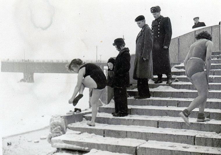Набережная, конец 1950-х годов