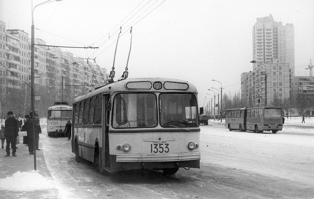 Проспект Героев, 1980-е годы