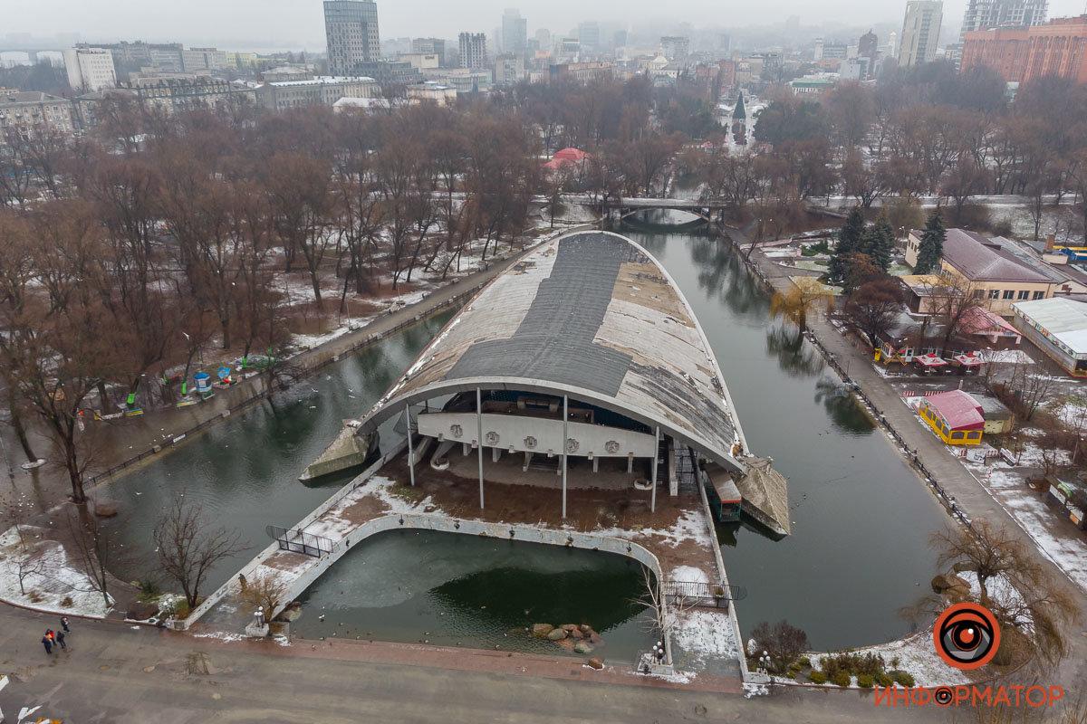 В Днепре затопило парк Глобы, фото-4