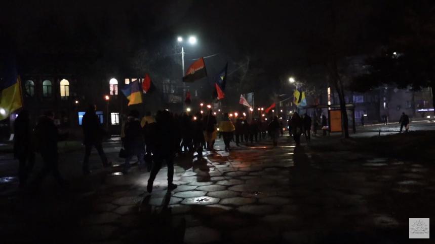 Факельное шествие, 2020 год
