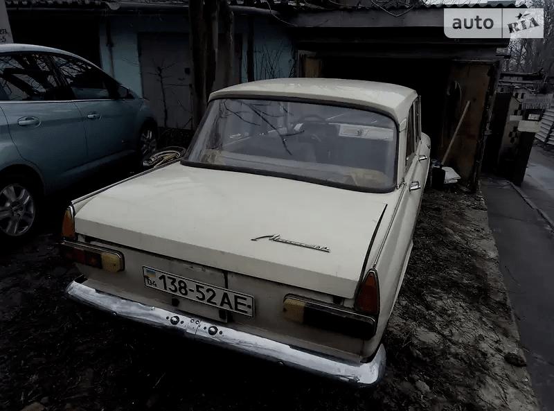 АЗЛК 412 1971, фото-2
