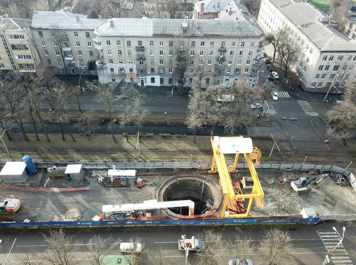 Как в Днепре продвигается строительство метро (ФОТО), фото-4