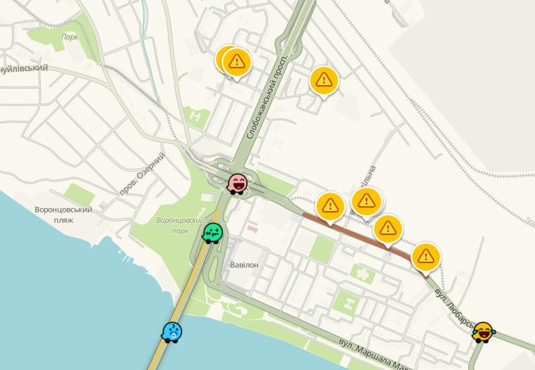 Пробки в Днепре: какие улицы сейчас «стоят», фото-1
