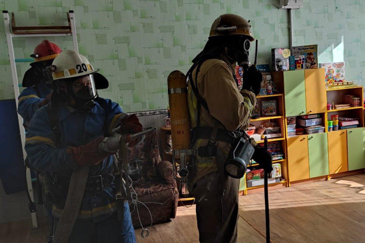 На Днепропетровщине «горела» школа, - ФОТО, фото-2
