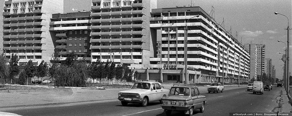 """Легенды жилмассивов Днепра: первые 16-этажки и несостоявшийся """"Лазурный"""" район, фото-1"""