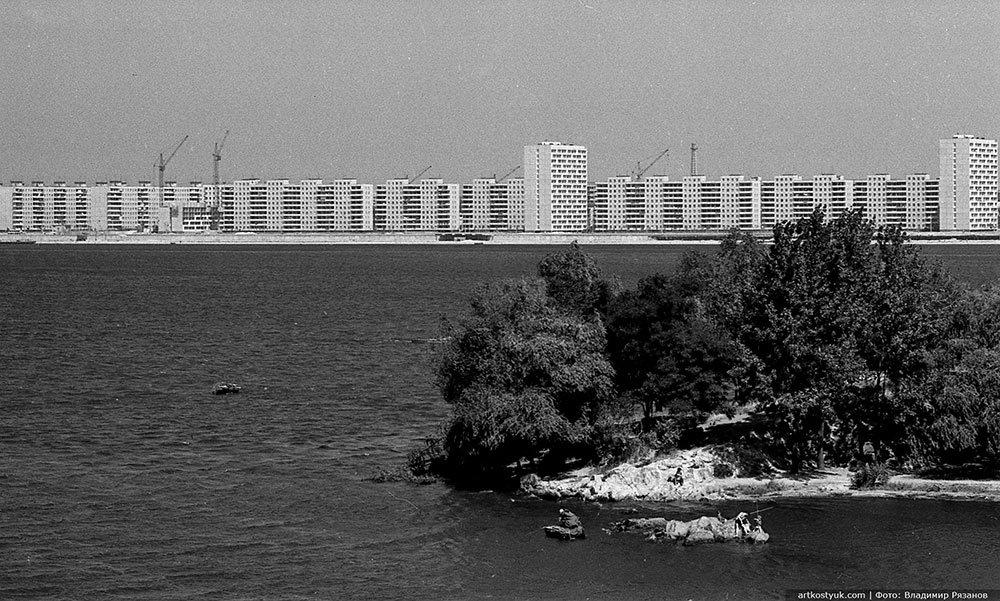 """Легенды жилмассивов Днепра: первые 16-этажки и несостоявшийся """"Лазурный"""" район, фото-3"""