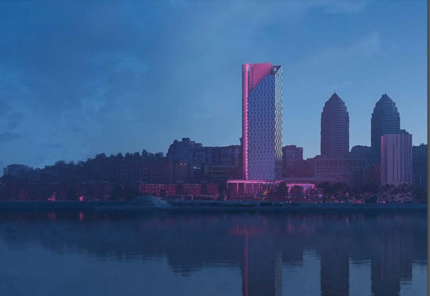 """В Днепре на Набережной появится 32-этажный """"Маяк"""": подробности, фото-1"""