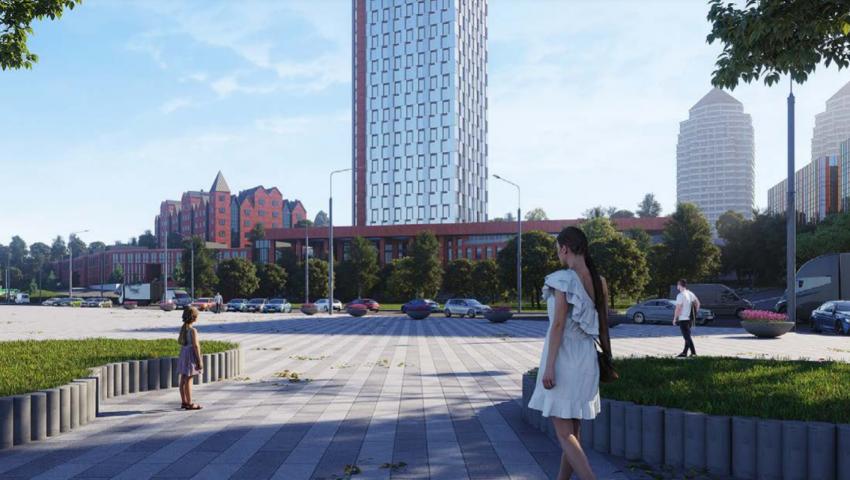 """В Днепре на Набережной появится 32-этажный """"Маяк"""": подробности, фото-3"""