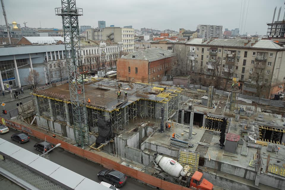 "Стало известно, что строят на месте ""Кубометра"", фото-1"