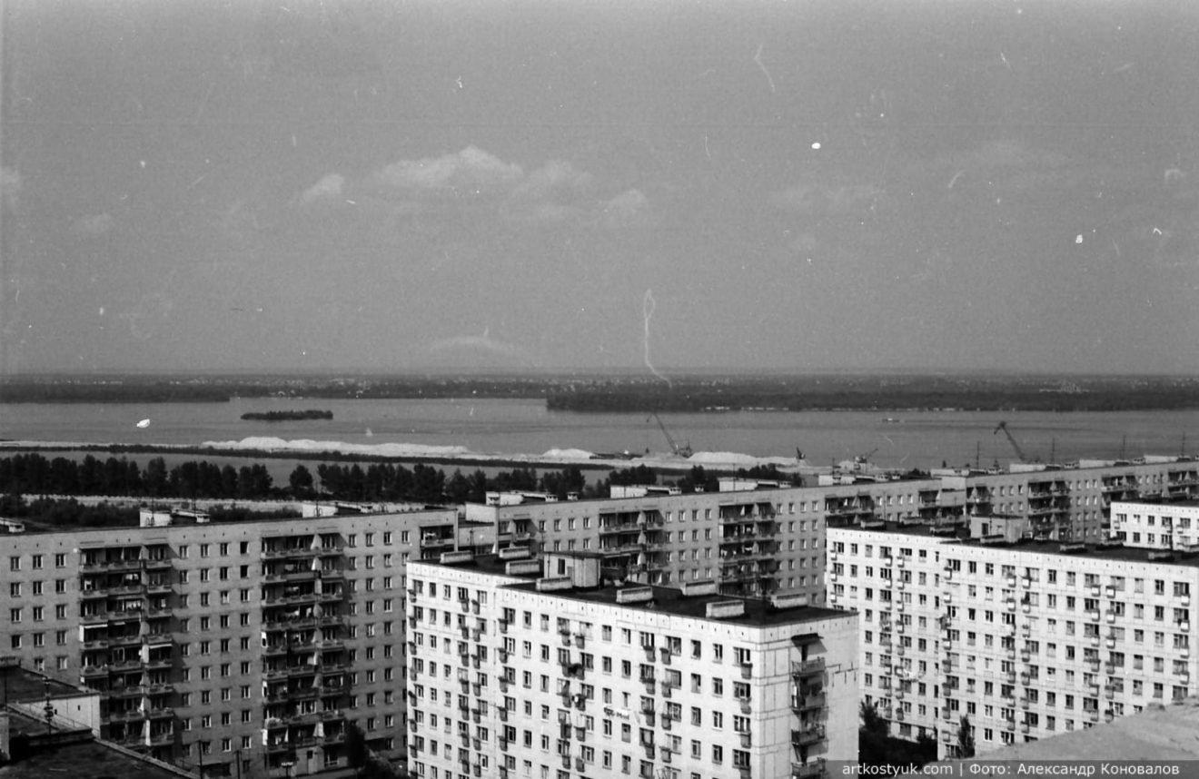 """Башенные краны, мост и легендарный карьер: как выглядел """"Красный камень"""" Днепра в 80-е, фото-5"""