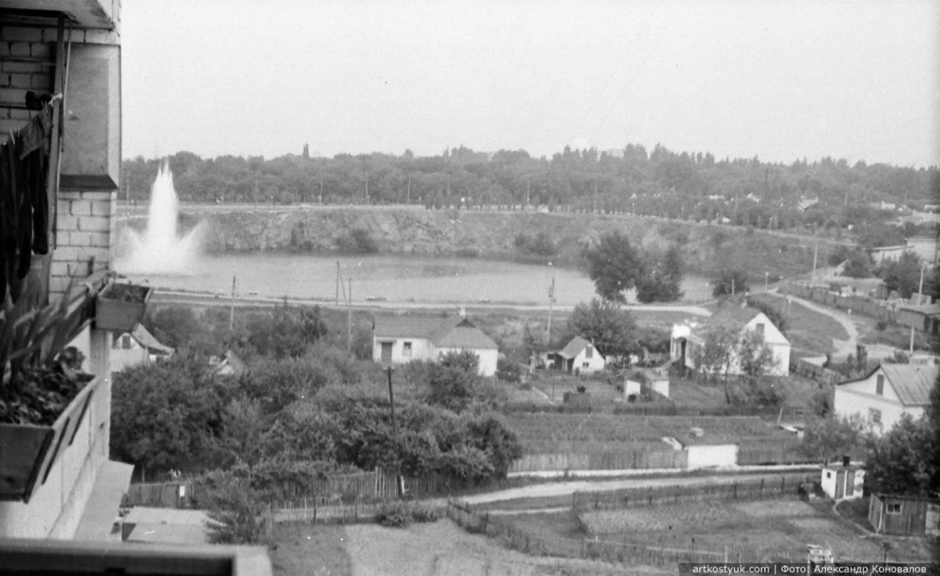 """Башенные краны, мост и легендарный карьер: как выглядел """"Красный камень"""" Днепра в 80-е, фото-8"""