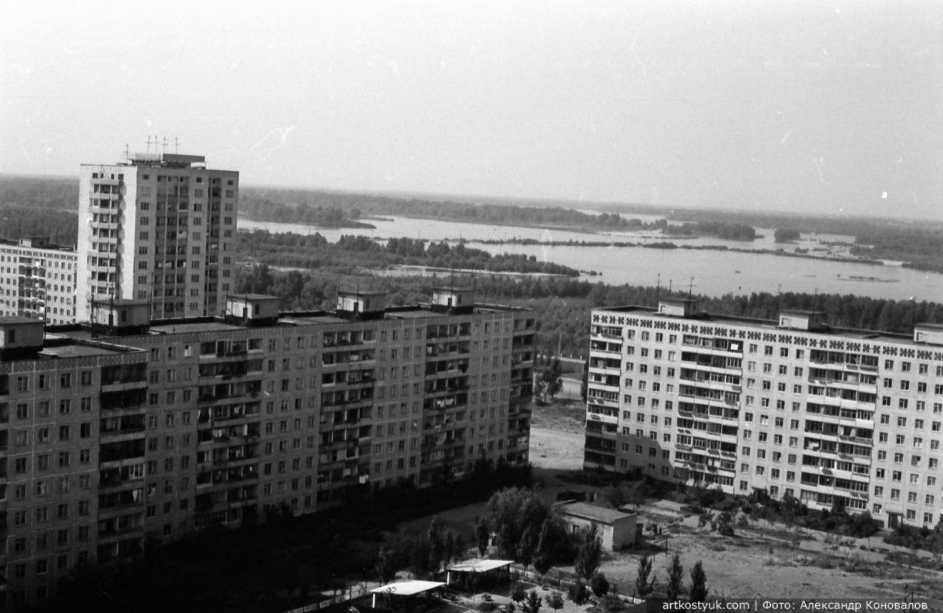 """Башенные краны, мост и легендарный карьер: как выглядел """"Красный камень"""" Днепра в 80-е, фото-4"""