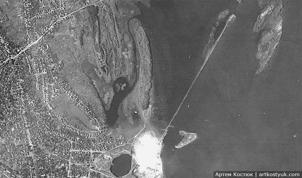 """Башенные краны, мост и легендарный карьер: как выглядел """"Красный камень"""" Днепра в 80-е, фото-10"""